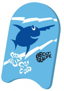 BECO Schwimmbrett Kick-Board Junior Blau - 1
