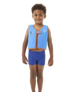 Speedo Schwimmweste Sea Squad Float Vest, Japan Blue/Salso, 2-4, 8-091949490 - 1