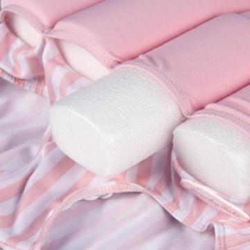 Badeanzug Schwimmhilfe für Kinder mit Schwimmbojen Rosa Größe S - 3