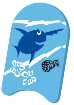 BECO Schwimmbrett Kick-Board Junior Blau - 1