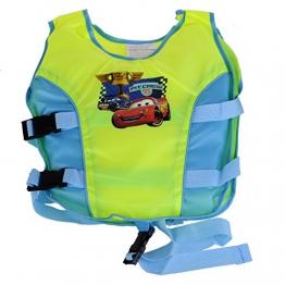 Kinder Schwimmweste Floating Jacket von 2 bis 9 Jahren Grün - 1