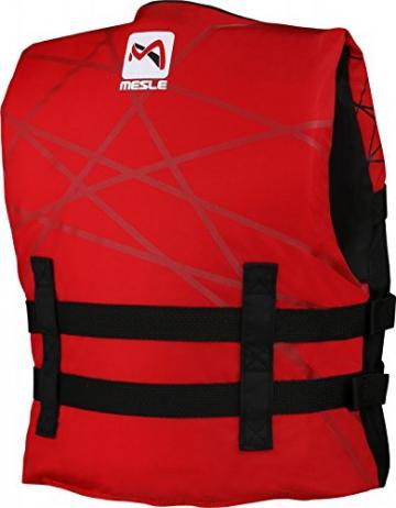 MESLE Schwimmweste Club 420D Junior, 50 N Schwimmhilfe für Kinder bis 40 kg, rot - 2