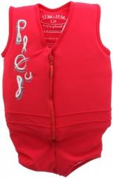 Plouf Schwimmender Badeanzug für Kinder, Jim, Rot, ab 4 Jahren - 1