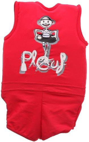 Plouf Schwimmender Badeanzug für Kinder, Jim, Rot, ab 4 Jahren - 2