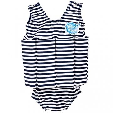 Splash About Kinder Float Anzug Badebekleidung anpassbaren Schwimmers, Marine Weiß, 1-2 Jahre, FSNS1 - 1