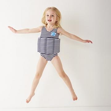 Splash About Kinder Float Anzug Badebekleidung anpassbaren Schwimmers, Marine Weiß, 1-2 Jahre, FSNS1 - 2